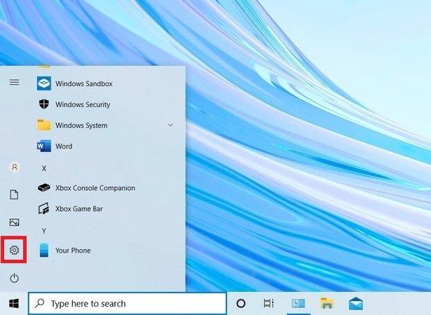 Abrir los ajustes de Windows