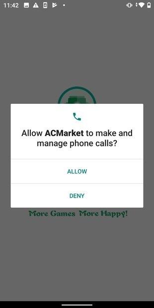 Autorisation de gestion des appels