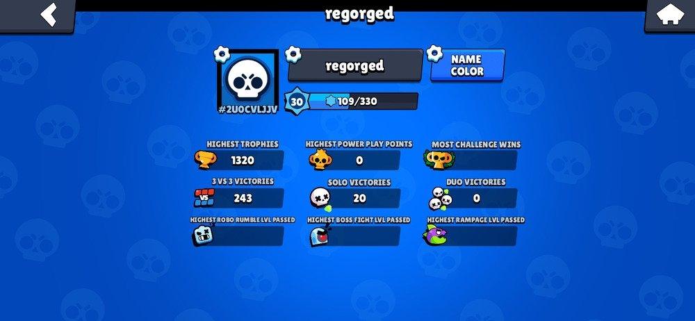 Perfil del jugador