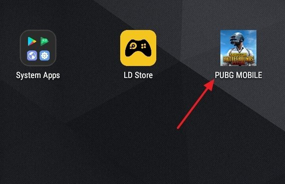 PUBG Mobile installed on LDPlayer
