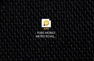 PUBG Mobile's APK