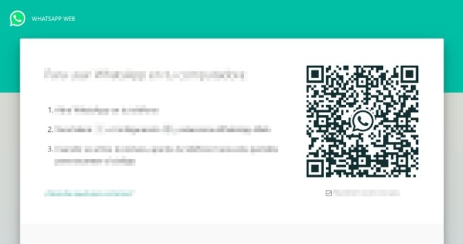 QR code to scan to use WhatsApp Web on a PC
