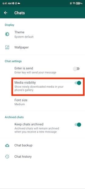 Eliminare foto di WhatsApp dalla galleria