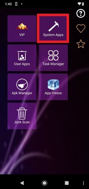 Root App Delete start menu
