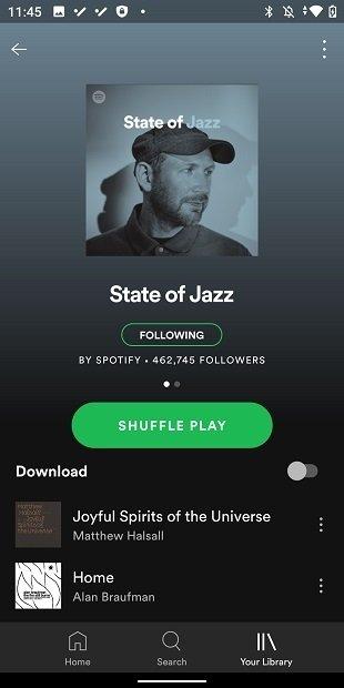 Buscar música para descargar