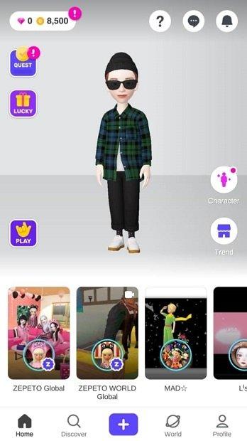 Inicio de la app