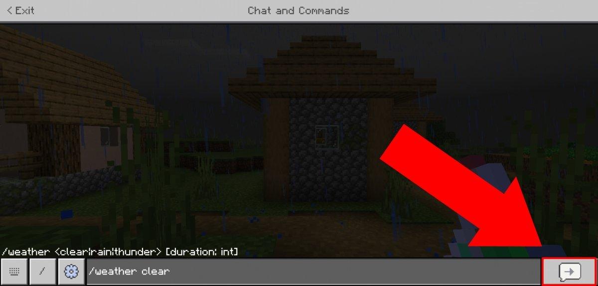 Clicando no botão Enter, o comando será aplicado