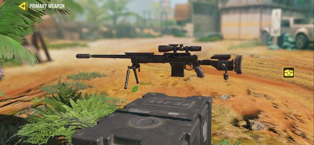 The DL Q33 Sniper has an extraordinary range