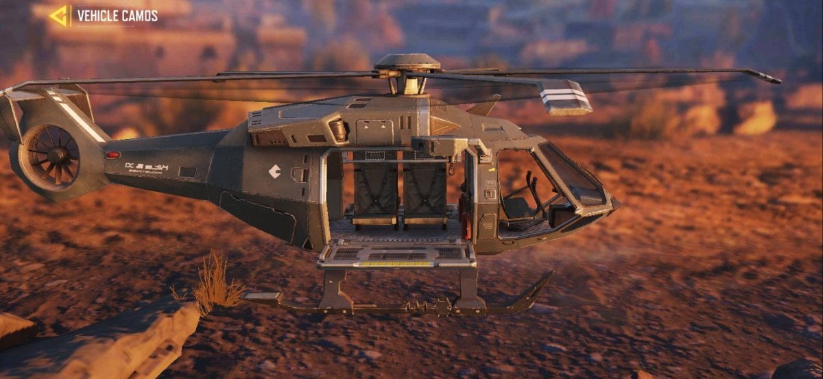 The helicopter is the fastest vehicle