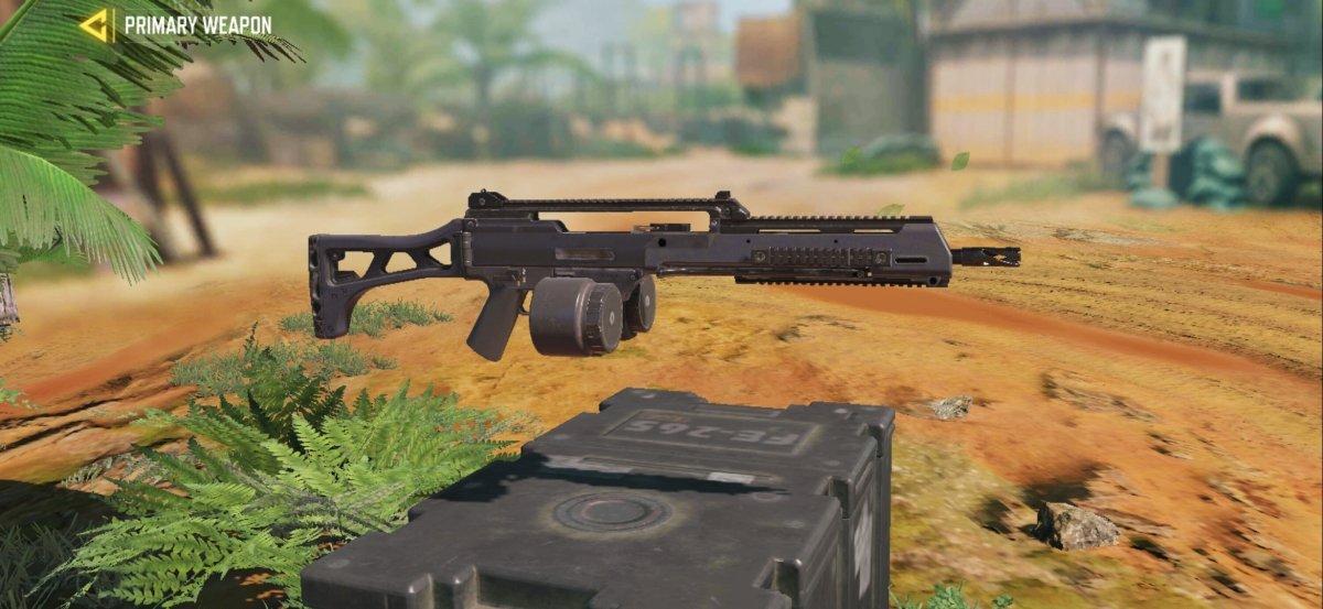 The Holger26 light machine gun comes along with features that make it unique