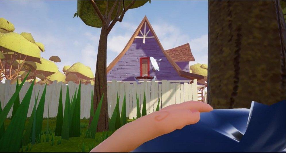 La casa del vecino vista por el jugador