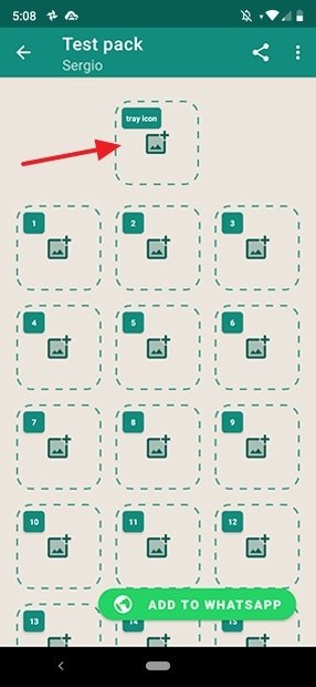 Sticker de cabecera del pack