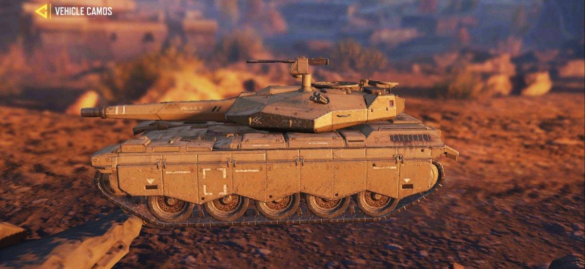 The tank is the sturdiest vehicle