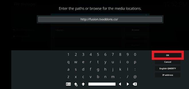 Teclea la dirección URL que te proporcionamos