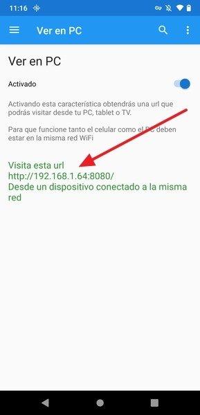 URL Para ver You TV Player en el navegador
