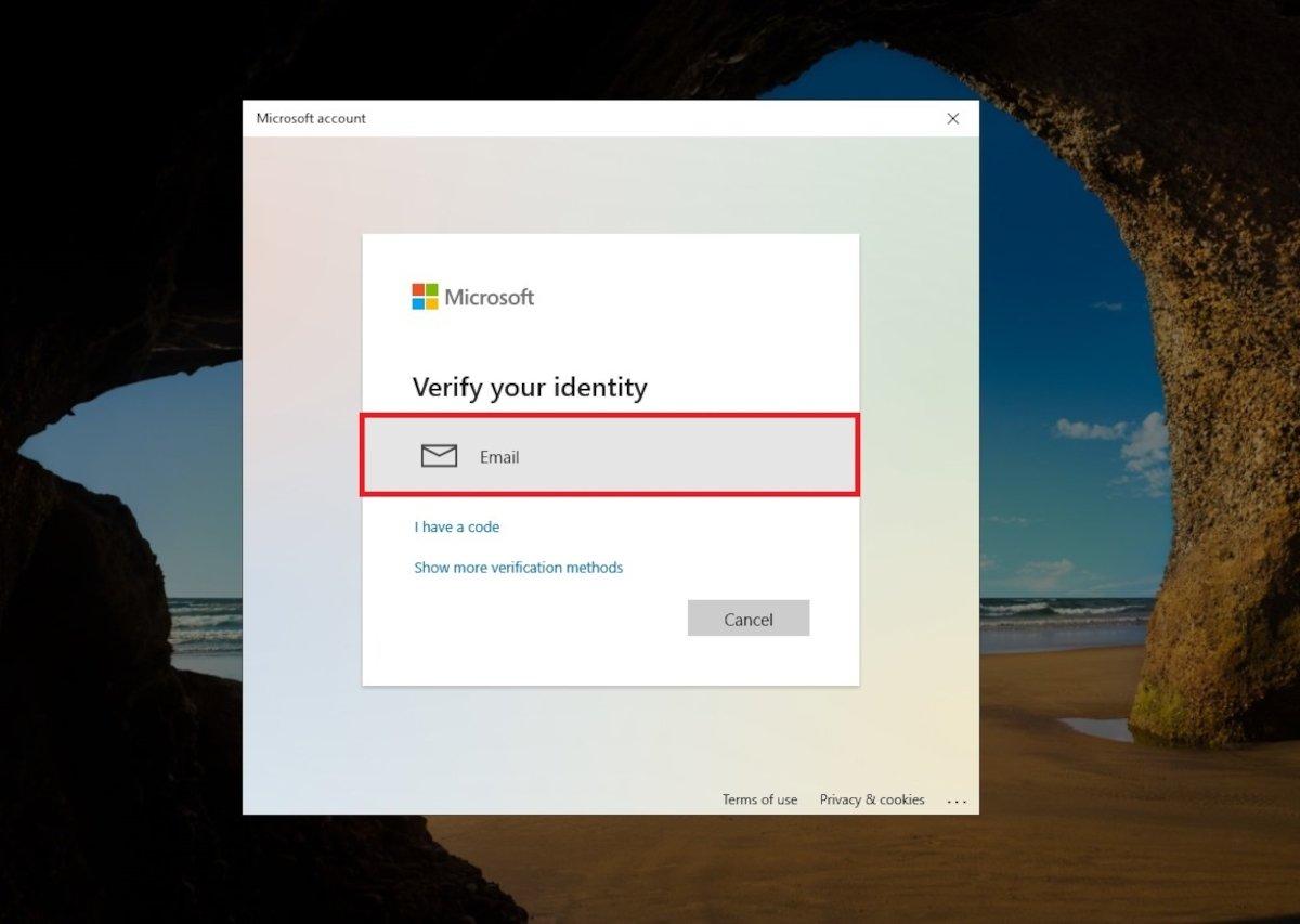 E-Mail zur Wiederherstellung des Passworts verwenden