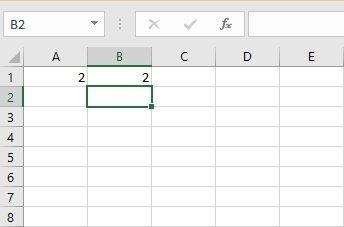 Valores en columnas de Excel