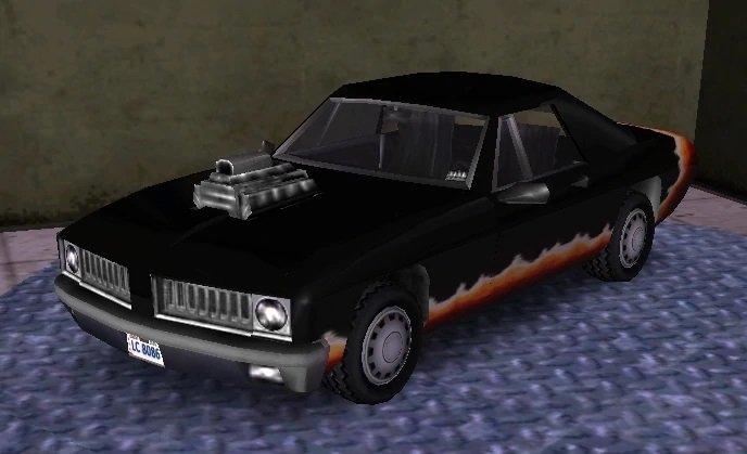 Vehículos disponibles con trucos de GTA3