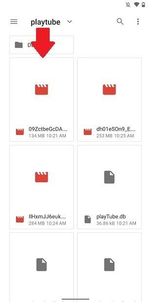 Archivo de vídeo obtenido con iTube