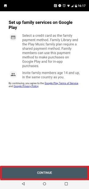 Notification de carte requise