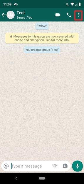 WhatsApp Gruppe erstellt