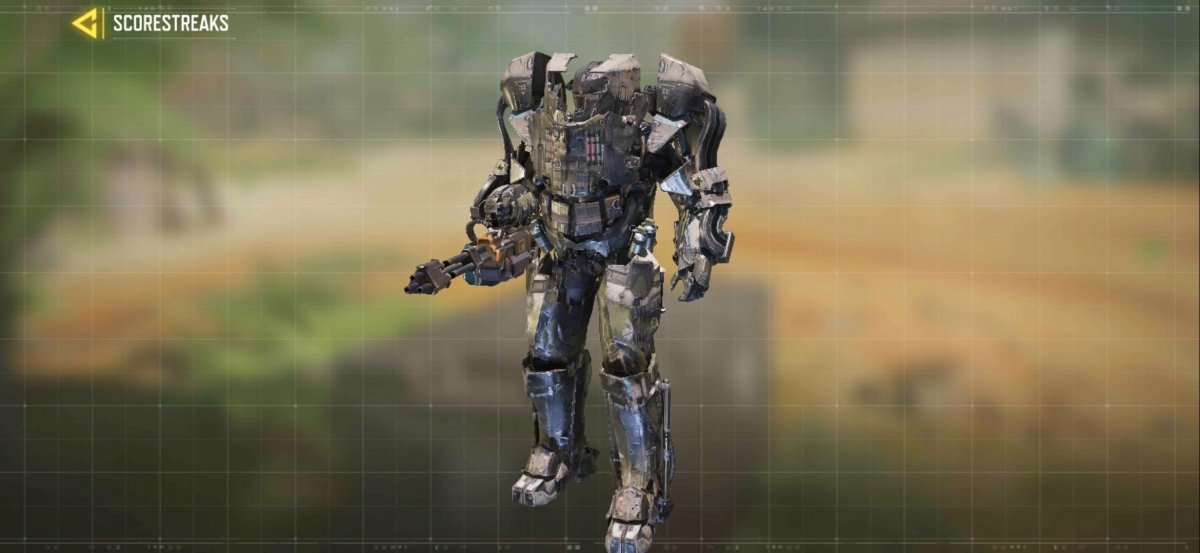 XS1 Goliath, a very fearsome robot