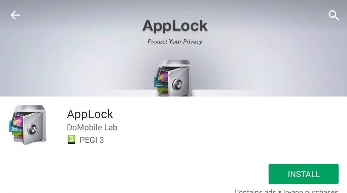 Cómo descargar AppLock
