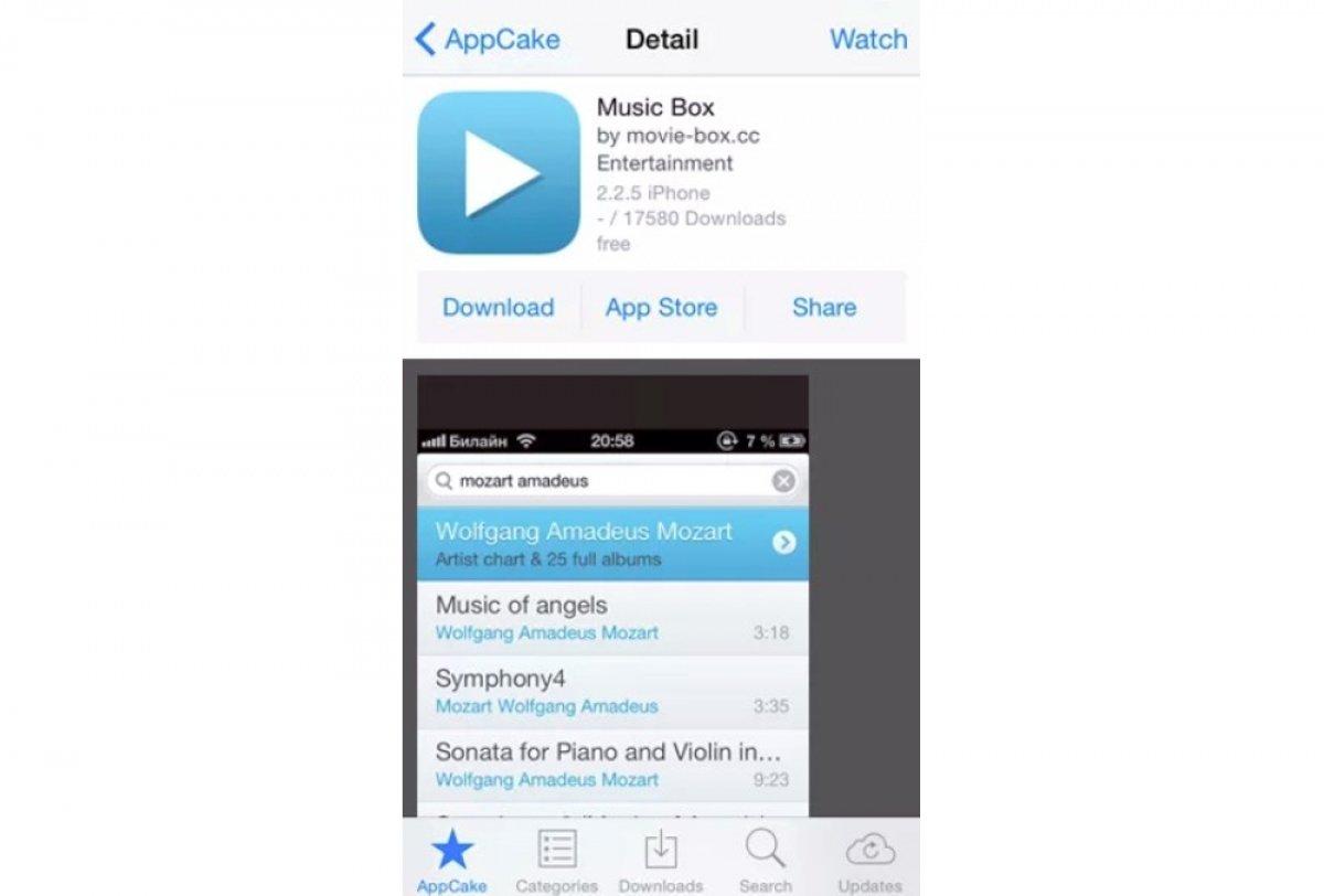 Cómo funciona AppCake