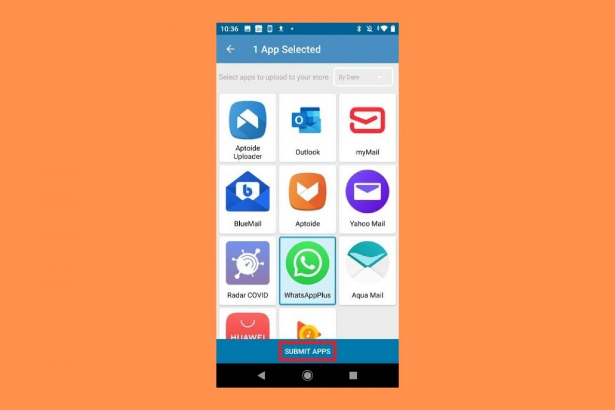 How to upload applications and games to Aptoide