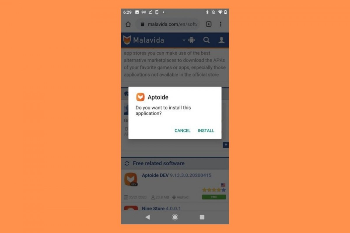How to install Aptoide