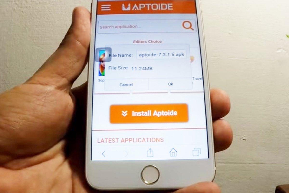 Cómo obtener Aptoide para iOS (iPhone/iPad)