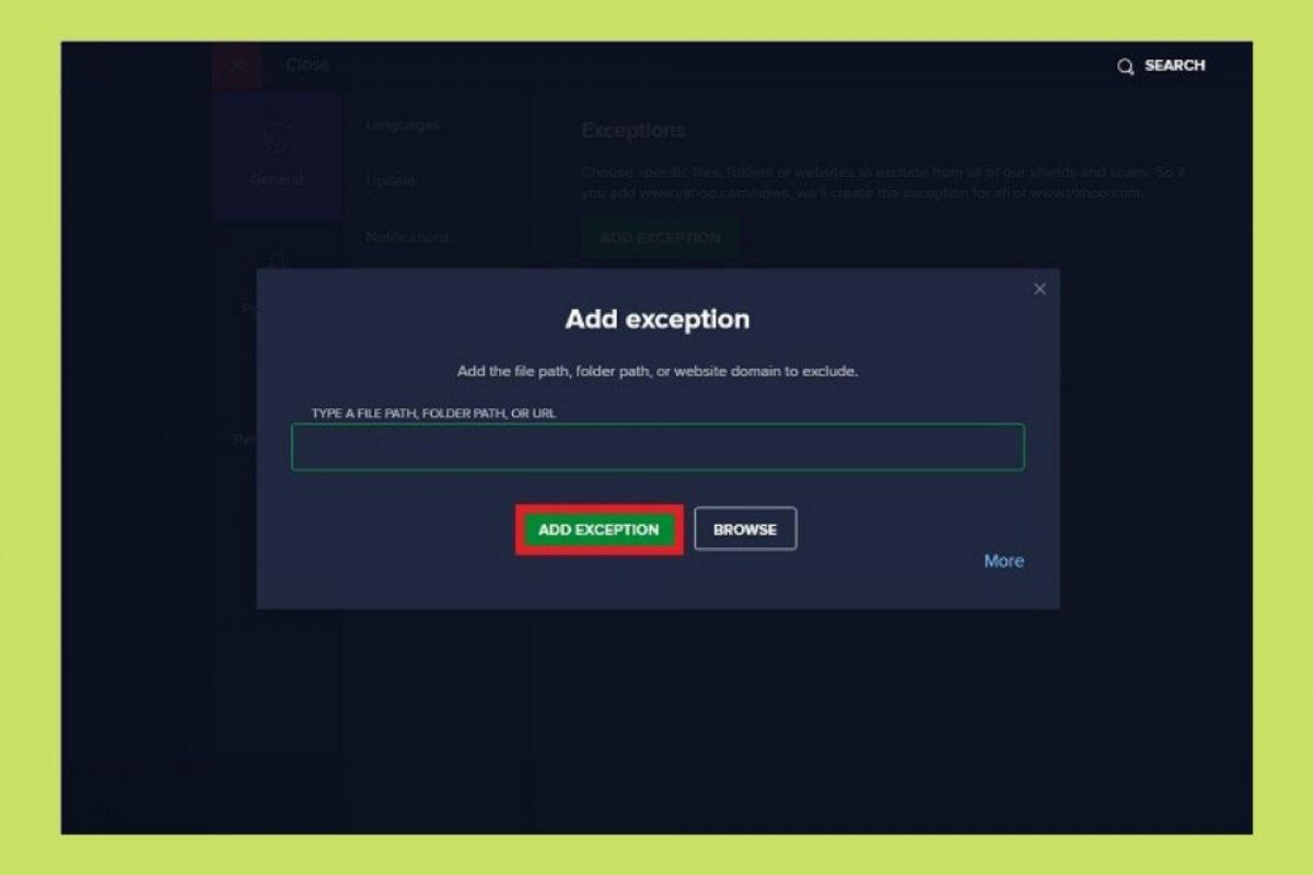 Cómo hacer que Avast! no bloquee un programa