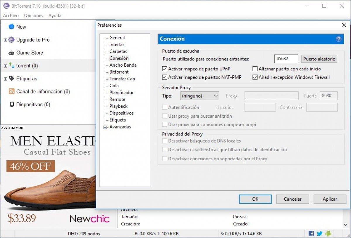 Cómo descargar más rápido en BitTorrent