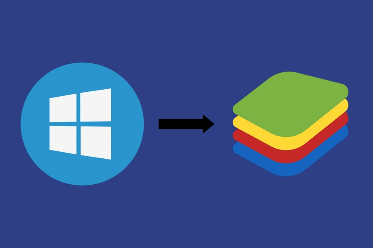 How to transfer files from Windows to BlueStacks