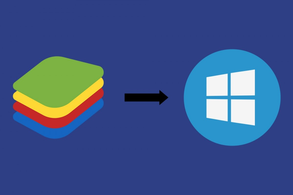 How to transfer files from BlueStacks to Windows