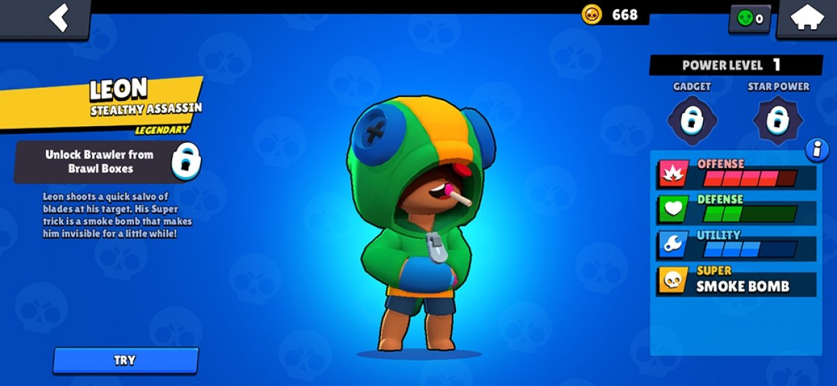How to get Leon in Brawl Stars