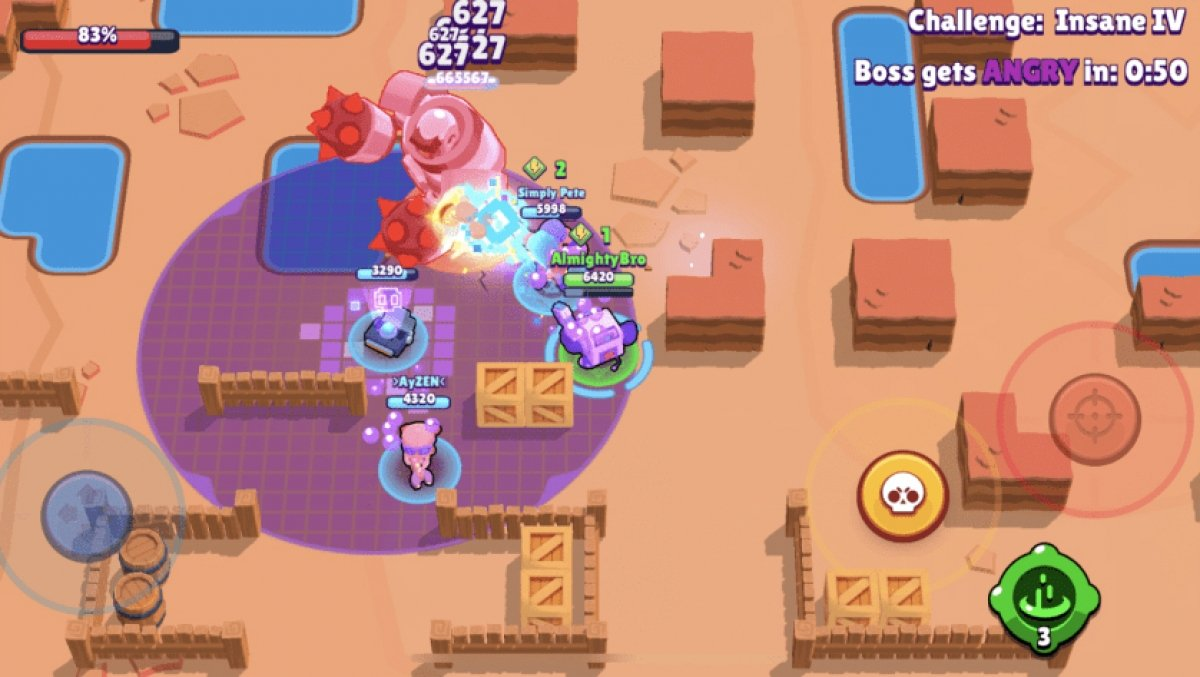 What are Brawl Stars boss fights and how to win them