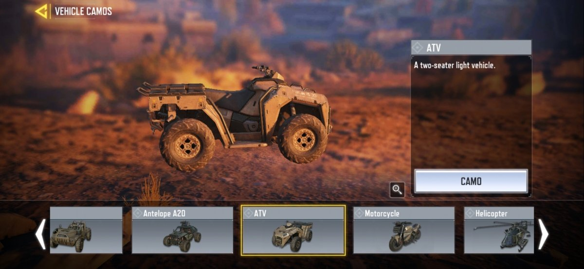 The best vehicles available for Call of Duty Mobile