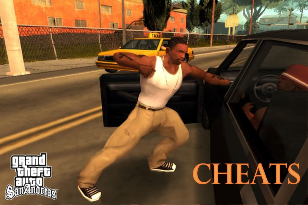 How to cheat GTA San Andreas Android