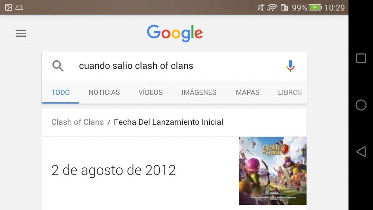 Cuándo salió Clash of Clans