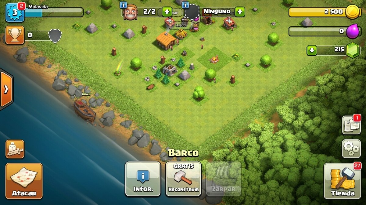 Cuántos megas consume Clash of Clans