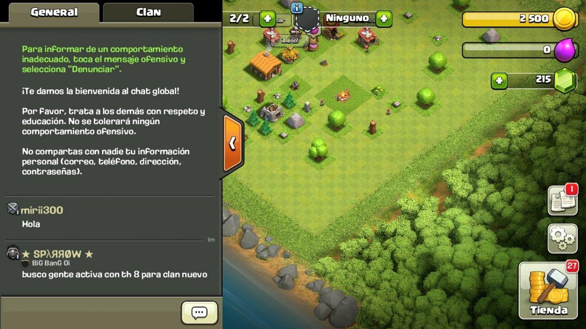 Cuántas personas juegan a Clash of Clans