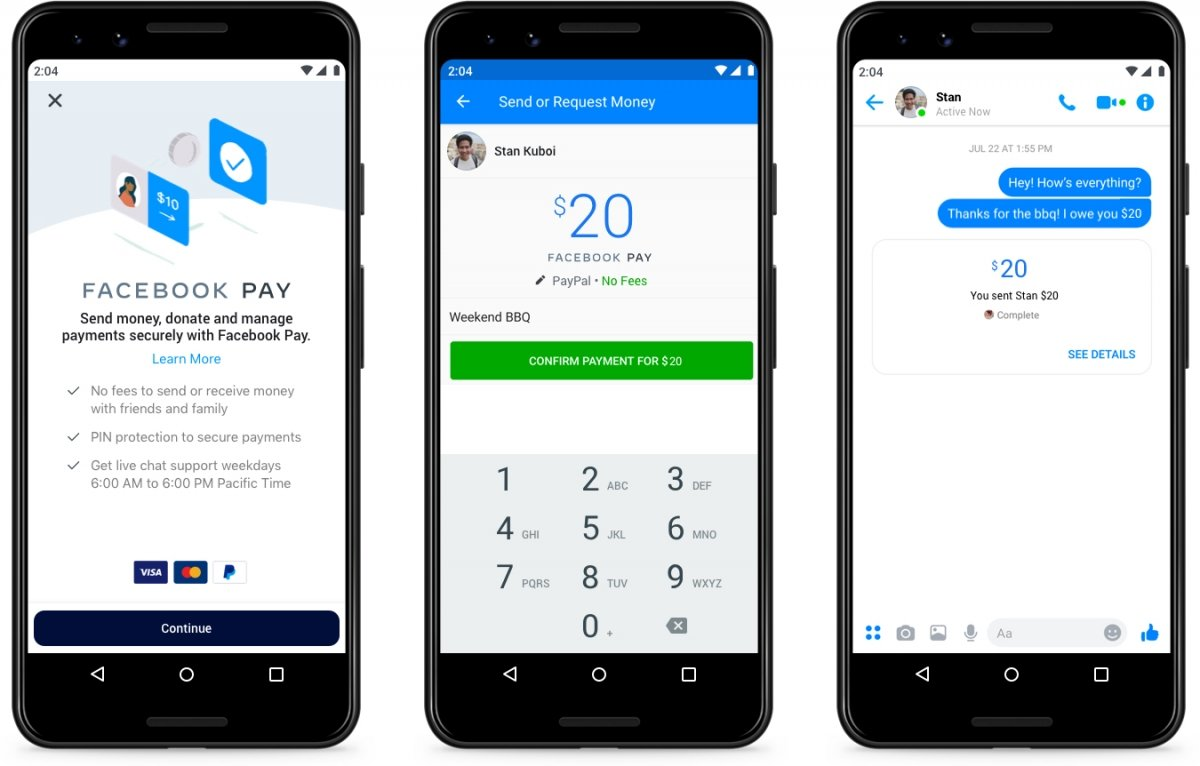 How to send money with Facebook Messenger