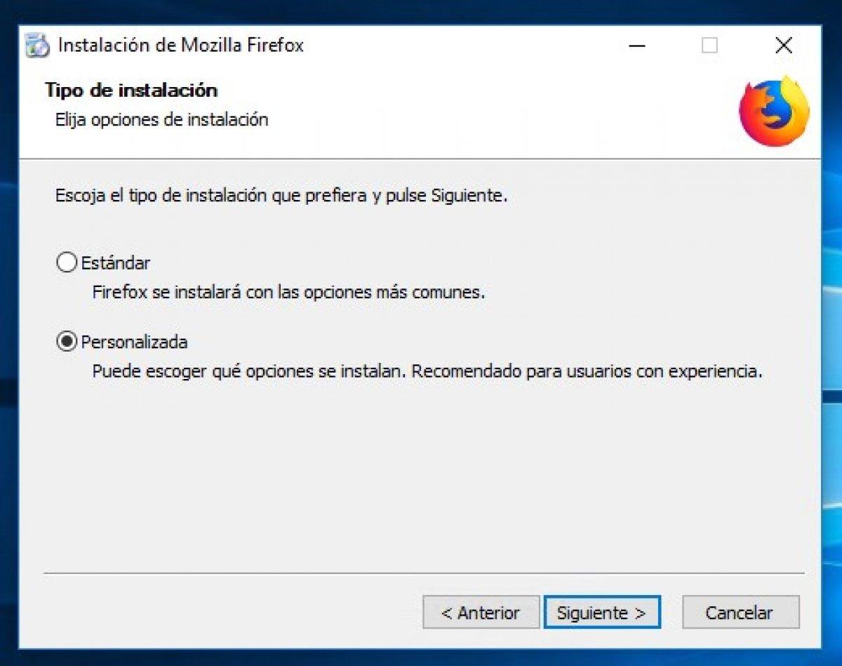 Cómo instalar Firefox Quantum en Windows