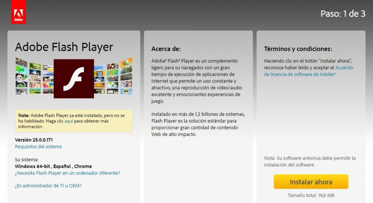 Para qué sirve Adobe Flash Player