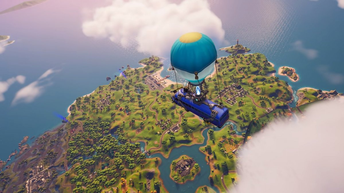 Comment atterrir plus rapide sur Fortnite