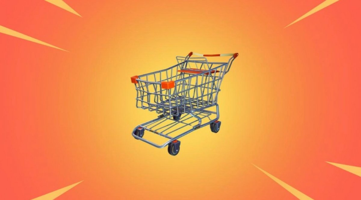 Where to find shopping carts in Fortnite