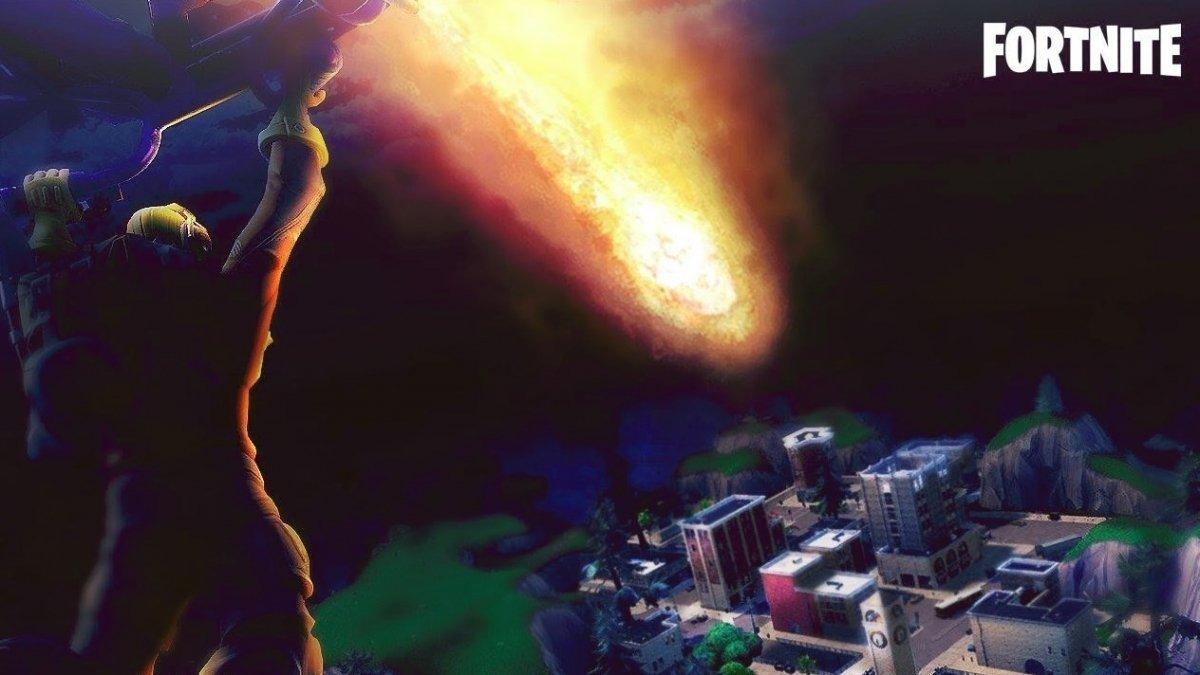 Qué es el meteorito de Fortnite