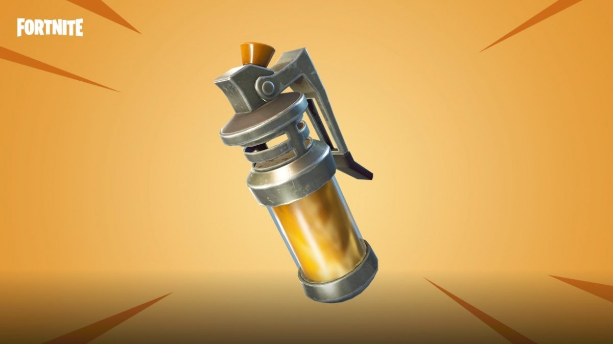 How to use the stink bomb in Fortnite