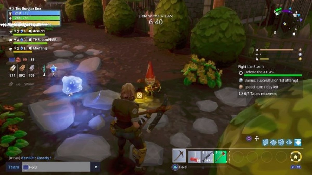 Where to find the hungry gnomes in Fortnite